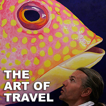 Will Irving will exhibit his art in Switzerland later this month. Photo: Chris McCormack/174670
