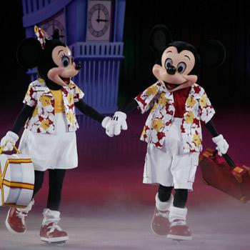 Disney On Ice presents Mickey and Minnie's amazing journey.