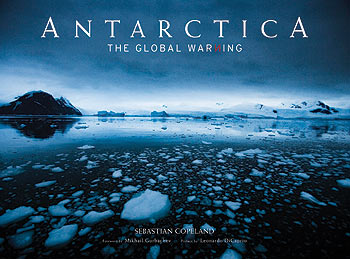 Photographer and environmental activist Sebastian Copeland delivers alarming statistics and beautiful images in Antarctica: The Global Warning.