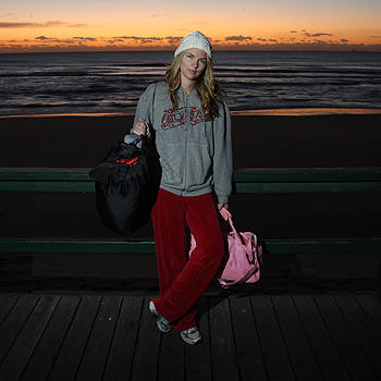 Sunshine Coast Daily journalist Amy Remeikis spent the night on the streets to gain an insight into the world of the homeless. Photo: Cade Mooney/174616