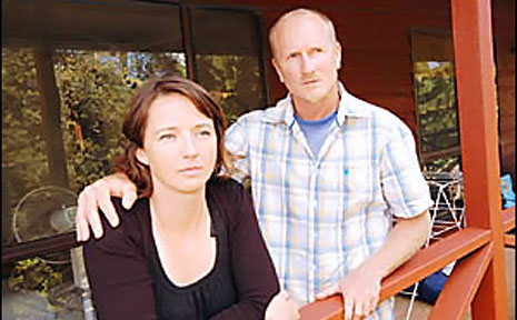 Michelle and Stephen Shearer, of Lennox Head, are sick of thieves targeting their home and are calling for a public meeting on crime to try and tackle the issue.