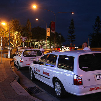 Coast cabbies regularly witness violent incidents in Mooloolaba, says one driver. Photo: Michaela O'Neill/mo171271b