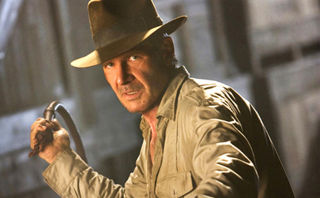 Steven Spielberg admits putting Harrison Ford's character inside a fridge so he could survive a nuclear bomb blast in 2008's Indiana Jones and the Kingdom of the Crystal Skull was his idea.