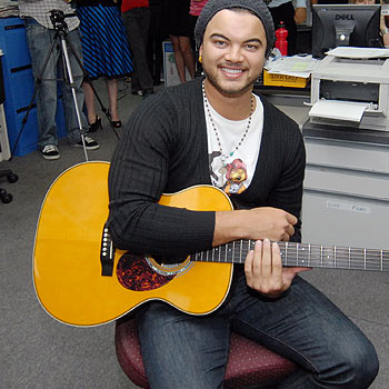 With news that Queensland tour dates have been cancelled, it turns out that the only show that Guy Sebastian will perform on the Coast this year was his impromptu set in the Sunshine Coast Daily Newsroom.