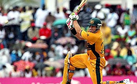 Australian Test opener Matthew Hayden.