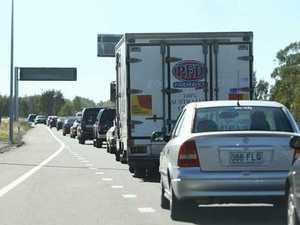 GRIDLOCK: Sunshine Motorway standstill after multi-car crash