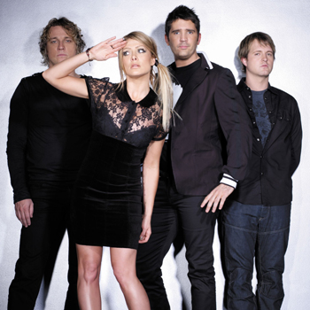 Rogue Traders rock into the Nambour Civic Centre on Tuesday night.