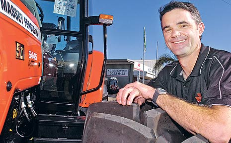 Justin Hunter of KC Farm Equipment in South Lismore, will be exhibiting a large range of his firm's Massey Ferguson tractors at this year's Primex.