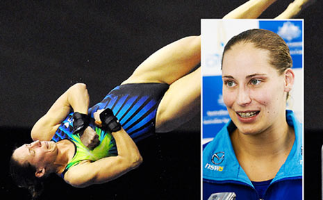Diving in ... former Coffs Coast girl Alexandra Croak is off to the Olympics for a second time, and in a different sport.