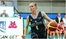 CYCLONE LARA: Teenager Lara Napier was one of the Cyclones' success stories in 2009 and is now playing her basketball with the AIS in the national competition.