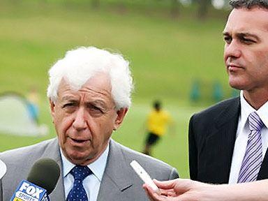 Frank Lowy (left) is a regular on Australia's rich list.