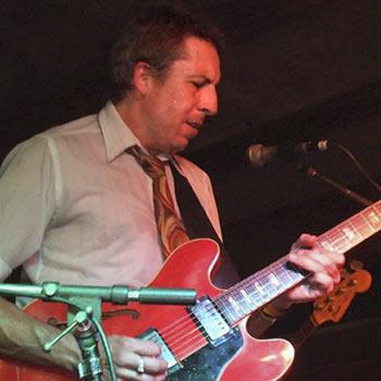 Australian Blues Music Award-winner Mojo Webb.