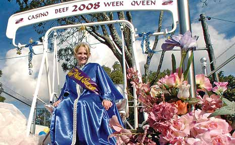 Rebecca Scofield, 21, from Casino, was crowned the 2008 Casino Beef Week Queen on Saturday.