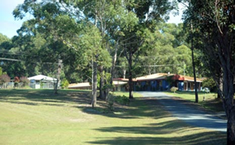 Perfect site . . . the former motel at Moonee.