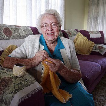 Coolum's Margaret Wilke was astounded to have been recognised in the Queen's Birthday Honours list. Photo: Barry Leddicoat/175278