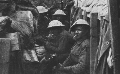 Australian soldiers in the battle of Fromelles.