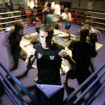 Shamrock Gym boxer Wade Foley is all set for his first professional fight. Photo: Brett Wortman/175320