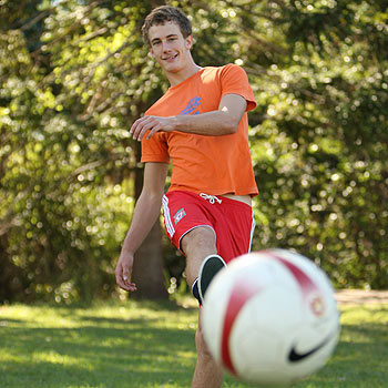 Woombye's Leon Tyrrell is ready to take on a more aggressive role. Photo: Michaela O'Neill/ 175396