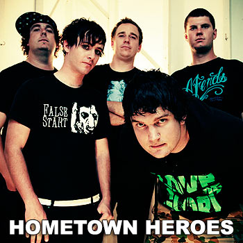 The up-and-coming rockers From the Heart of Heroes are inspired most by the least pretentious artists of their genre.