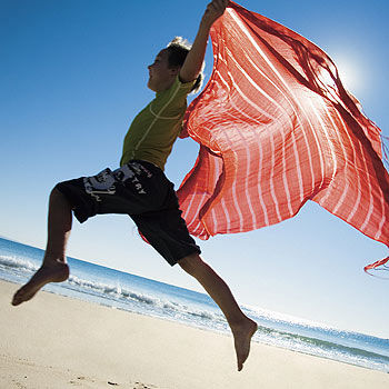 Noosa's enviable climate makes it a great place for a family holiday. Photo: Tourism Queensland