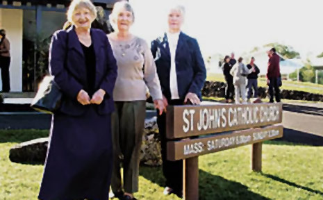 St John's Catholic Church at Mullumbimby is to have its Sunday morning service amalgamated with Brunswick Heads, much to the distress of long-time parishioners.
