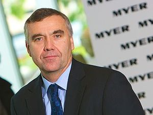 War over Myer chief's NDIS comments reignites
