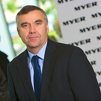 Myer CEO Bernie Brookes says a planned refurbishment to the Sunshine Plaza store will be brought forward, despite his bleak assessment that trading conditions were the most difficult he's experienced in his 30 years in retail.