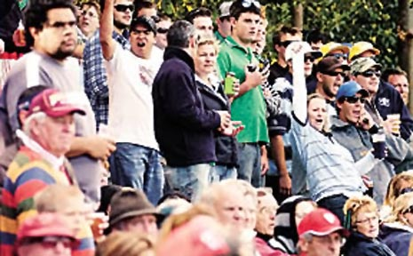 Part of Drug Action Week's focus is alcohol at sporting events.