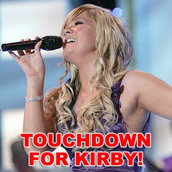 Sunshine Coast girl Kirby Lunn, 16, has made the Top 100 list of Australian Idol finalists.