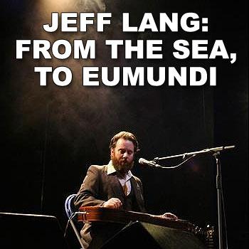 Virtuoso guitarist, singer and song-writer Jeff Lang will perform in Eumundi this Sunday. Photo: myspace.com/jefflangmusic
