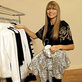Fashion designer Collette Dinnigan.