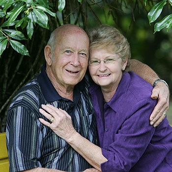 Kevin and Verna Bull believe the CANHELP plan has given them more time together. Photo: Chris McCormack