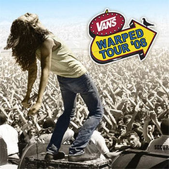 The Warped Tour '08 double CD - more than your money's worth.