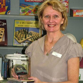 Coolum library coordinator Jenni Hatton. Phot: scw867a/Mike Garry