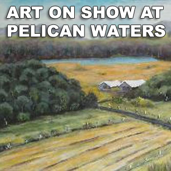 Art enthusiasts will be able to get up close and personal with more than 50 of Queensland's premier and up-and-coming artists  at the Crowne Plaza Resort, Pelican Waters.