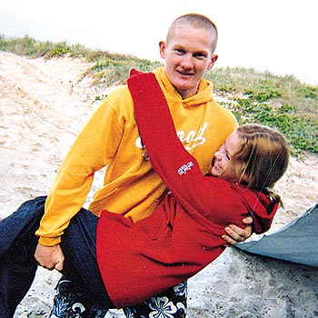 Sonny Baker was stabbed to death outside his Sunrise Beach home after a road rage incident.