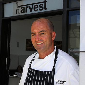 Harvest owner-chef Gary Skelton. Photo: Geoff Potter/n19918d