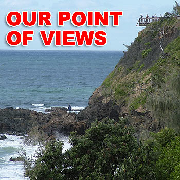 The new observation deck at Point Perry offers panoramic views of our spectacular coastline. Photo: scw897c/Mike Garry