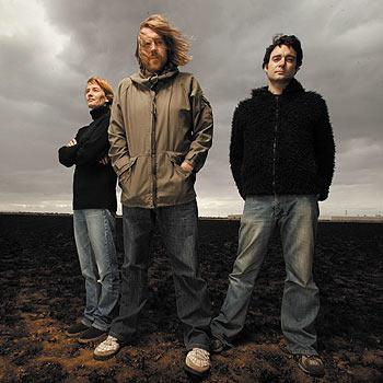 Legendary Aussie rockers: Kram, Janet and Whit of Spiderbait.