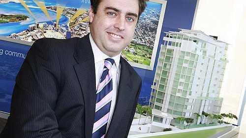 Reed Property Group general manager Carl Nancarrow has begun a recruitment drive.  Photo: Barry Leddicoat/177064