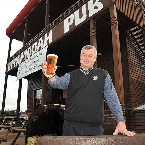 Ettamogah pub licencee Peter Raymond has a long family history with pubs. Photo: Brett Wortman/177254