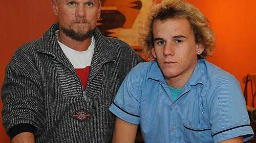 Caloundra's Alan Larter is angry his son Damien was allegedly threatened by a teacher. Photo: Brett Wortman/177221
