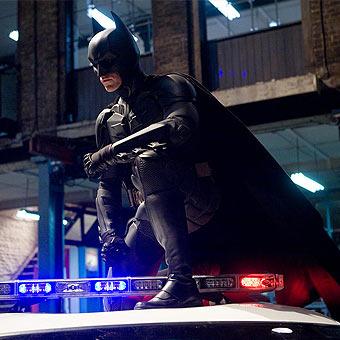 Christian Bale stars as Batman in The Dark Knight (2008)