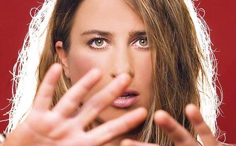 Nimbin-based indie rock singer Diana Anaid.