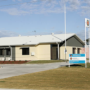 The new Coolum ambulance station on South Coolum Road. Photo: scw955