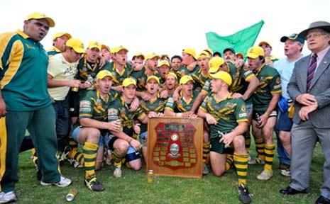 Winners . . . the Orara Valley Axemen.