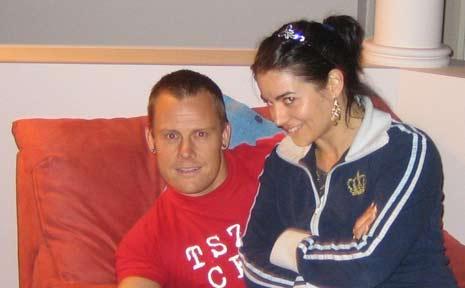 Cory Whitmore and girlfriend Rachel Purdy.