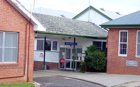 Tenterfield Hospital.