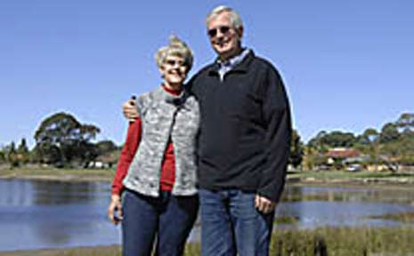 Seachangers Bruce and Helen Bevan, of East Ballina, made the move from St Ives in Sydney four years ago.