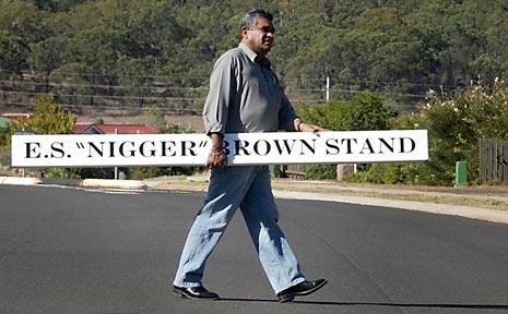 Toowoomba activist, Stephen Hagan.